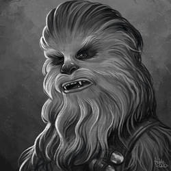 Daily Sketches Chewbacca