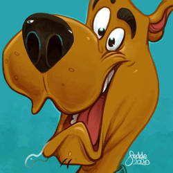 Daily Sketches Scooby Doo