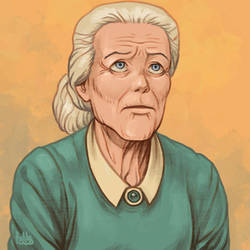 Daily Sketches Aunt May