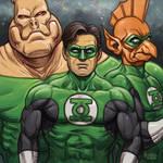 Daily Sketches Green Lantern