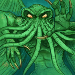 Daily Sketches Cthulhu