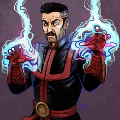 Daily Sketches Doctor Strange