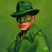 Daily Sketches Green Hornet
