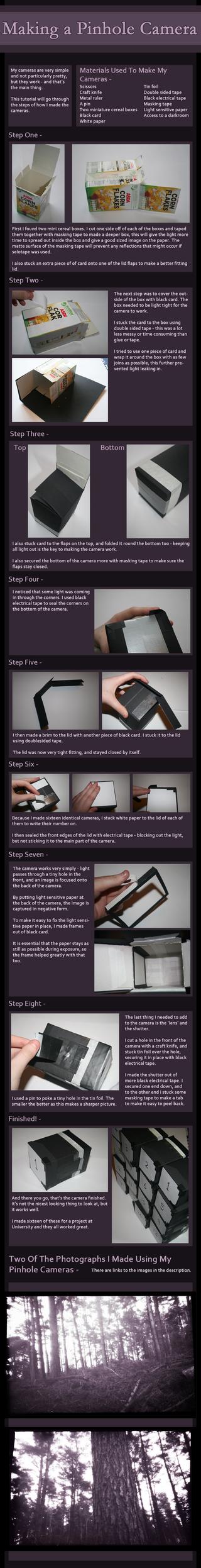 How To Make A Pinhole Camera by seasonaldragon1
