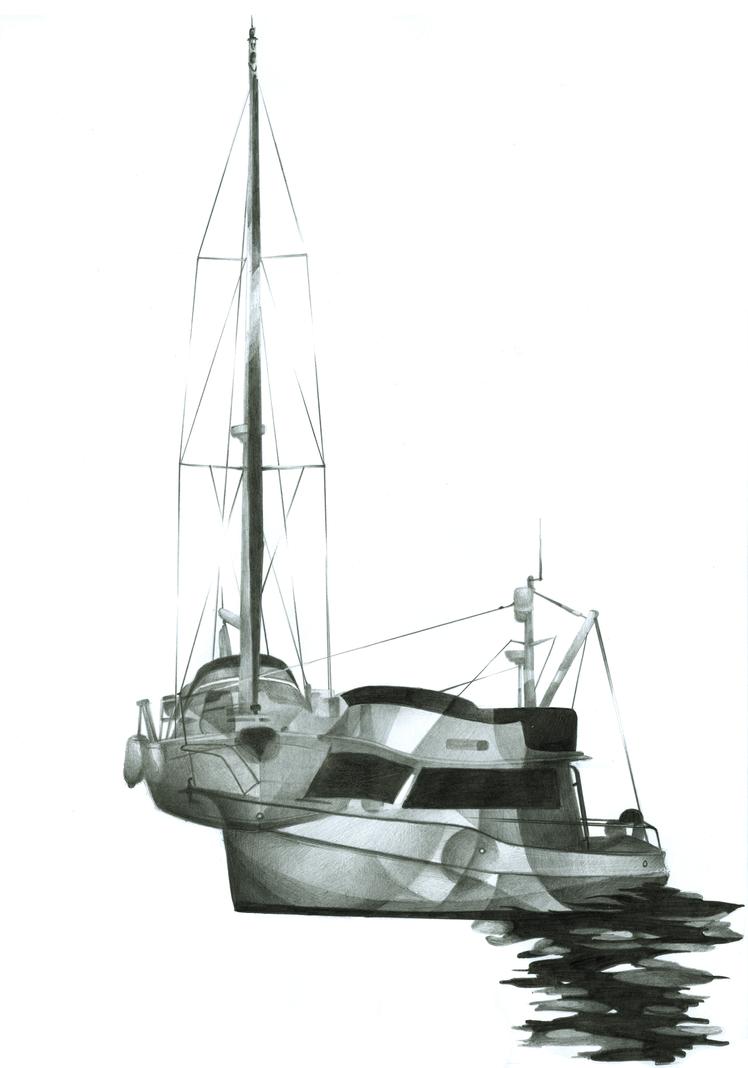 Southampton Boats by seasonaldragon1
