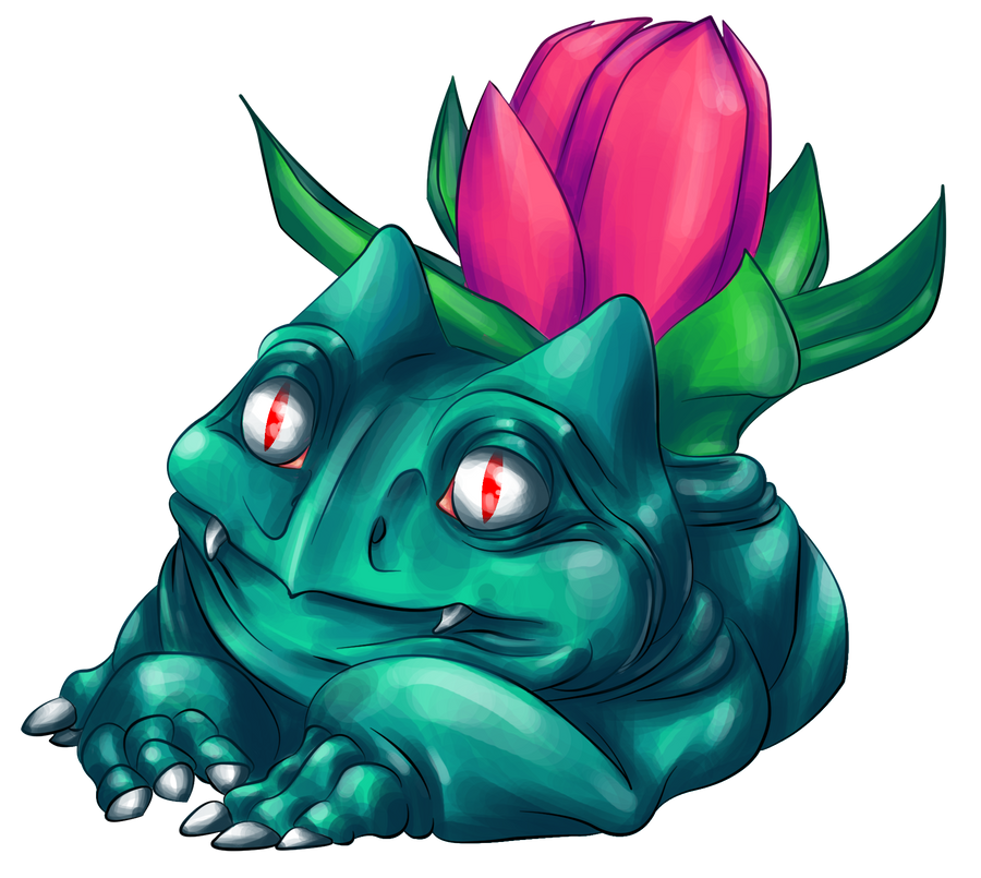 002 - Ivysaur by seasonaldragon1