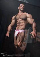 Thibault in kicksagat underwear by albron111