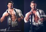 Adrian undressing