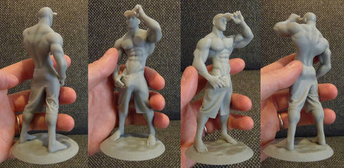 Cody, the summer guy - D printing available by albron111