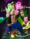 Steve Raider - Luigi's Mansion