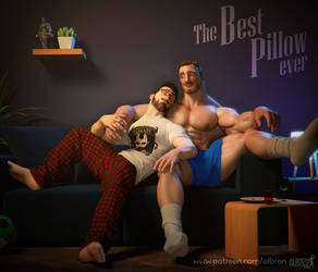 Song and joe: The best pillow ever
