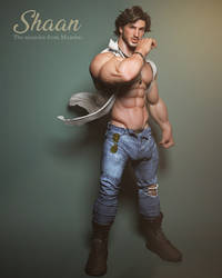 Shaan by albron111