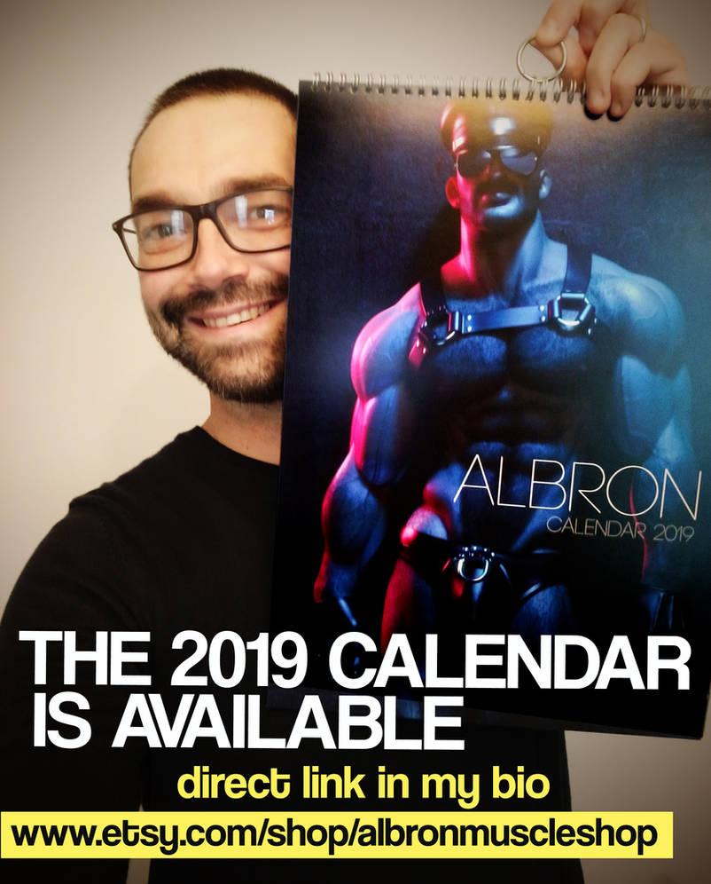 ALBRON 2019 CALENDAR IS AVAILBLE by albron111