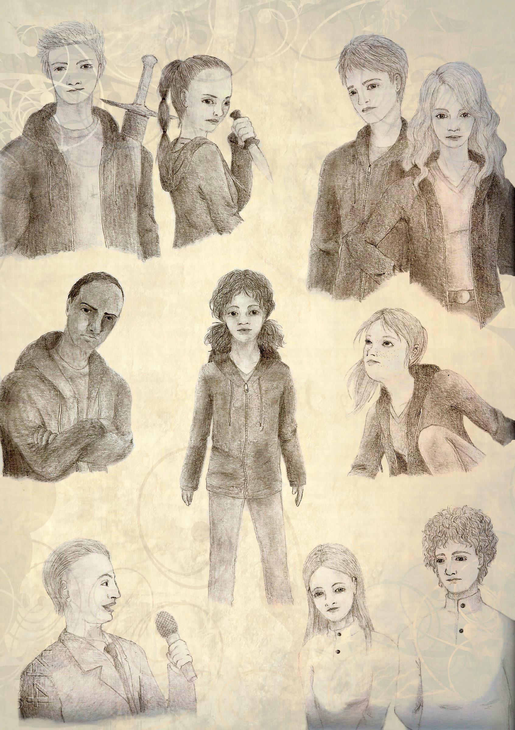 The Hunger Games: sheet 2 by Orikeel on DeviantArt