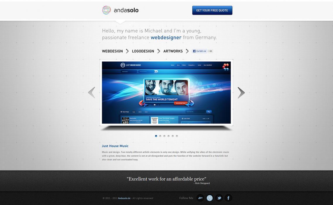 andasolo Portfolio - In Use by Andasolo