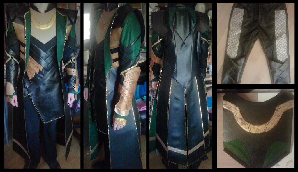 Loki Cosplay almost finished Thor2 by Ankh-Feels