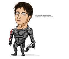 I'm Commandor Shepard... by woocash-kun