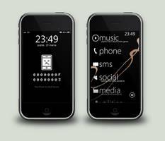 iPhone by woocash-kun
