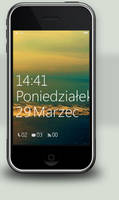 Win7Mobile Lockscreen - iPhone by woocash-kun