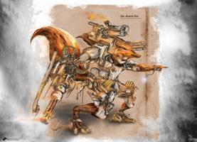 desert fox by NOMANSNODEAD