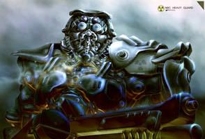 Heavy Guard NBC (3D) by NOMANSNODEAD