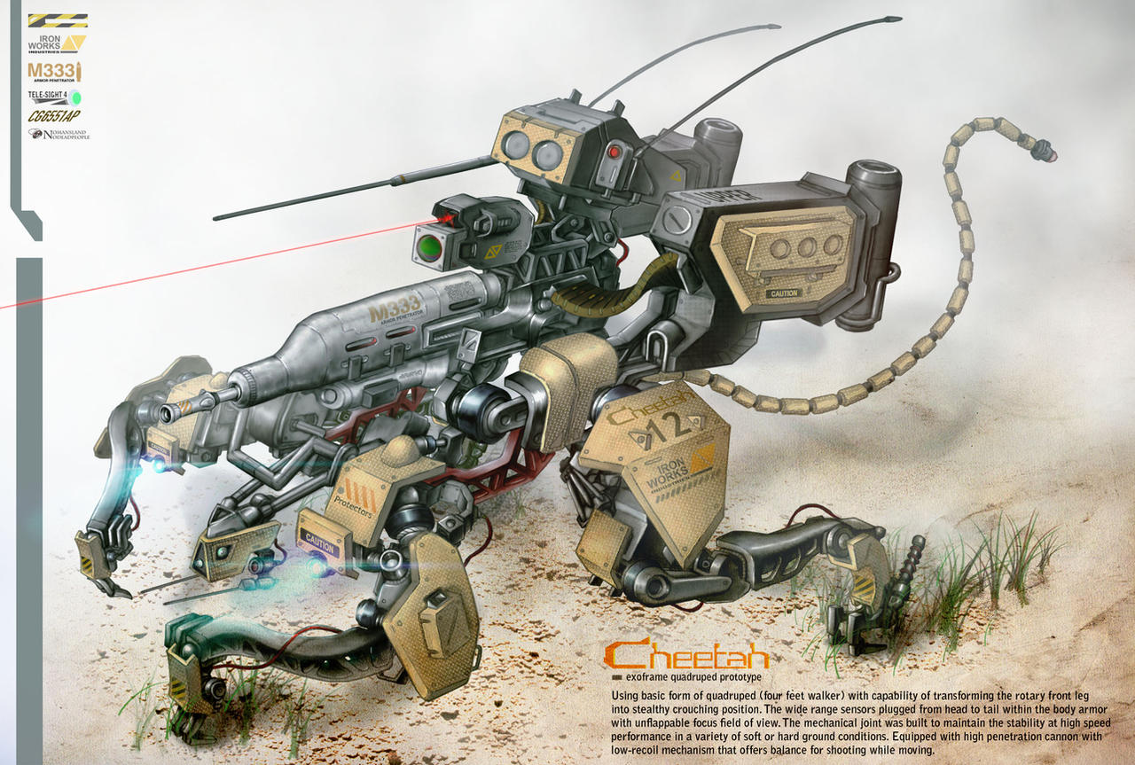 Cheetah Mk.I by NOMANSNODEAD