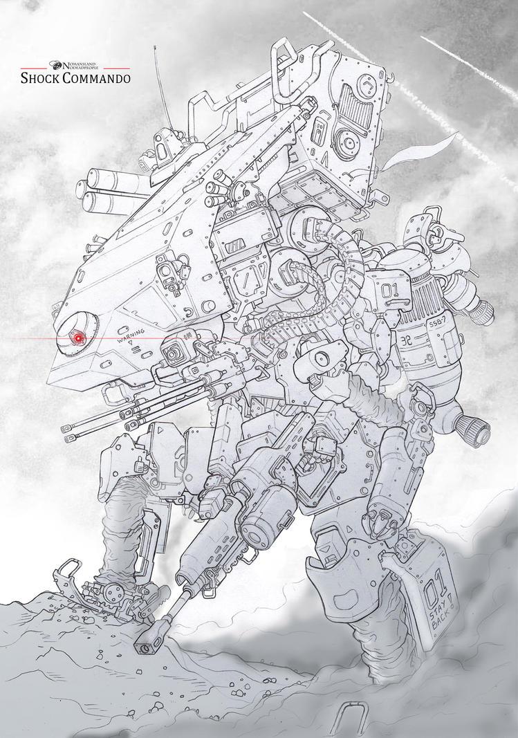 Shock Commando by NOMANSNODEAD