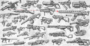 Sketches Weapons