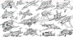 Sketches Flying 2