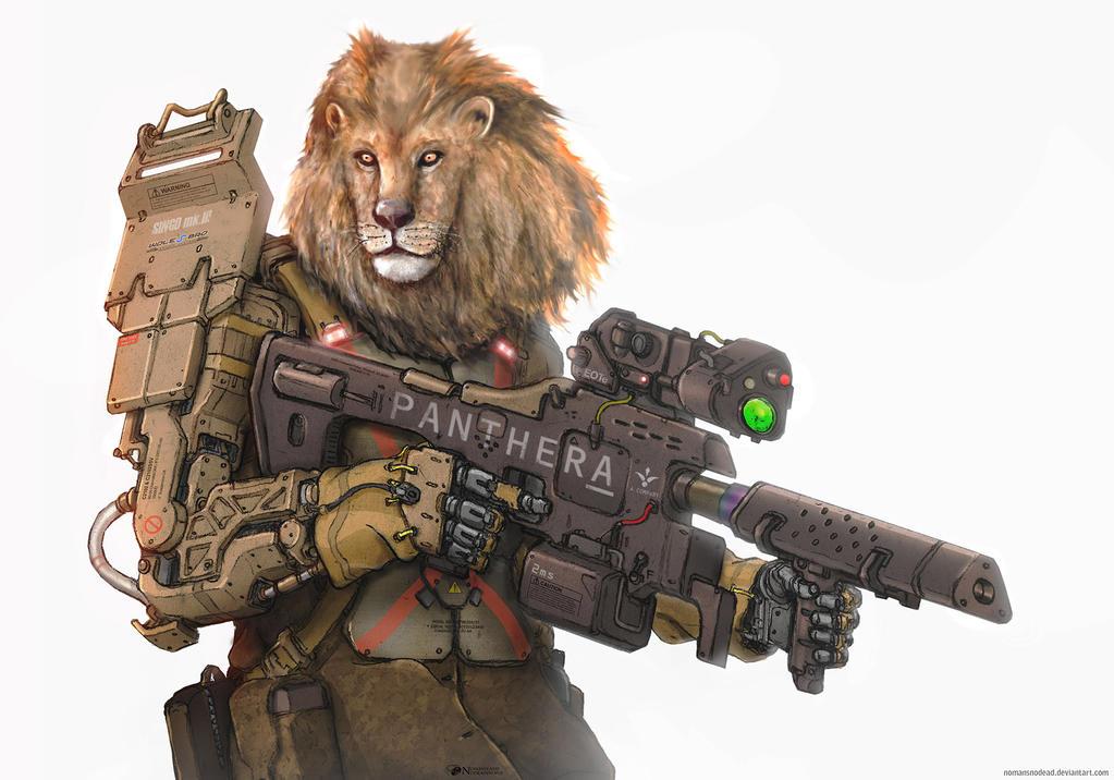 Apex Predator by NOMANSNODEAD