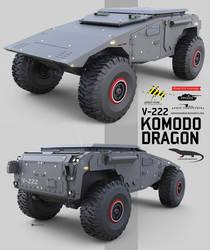 Komodo Dragon by NOMANSNODEAD