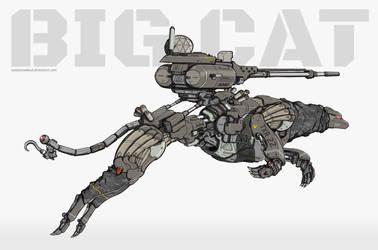 Big Cat by NOMANSNODEAD