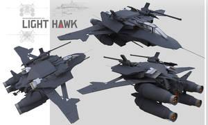 Light Hawk by NOMANSNODEAD