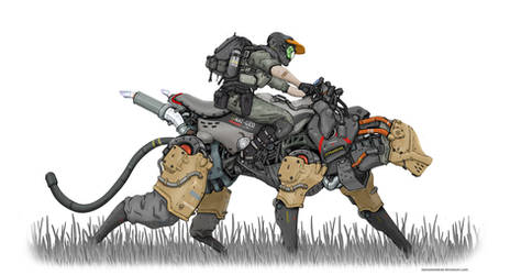 Wildlife Patrol by NOMANSNODEAD