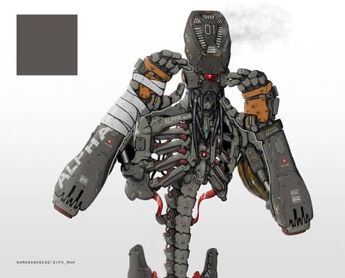 Alpha The Skeletal Fighter