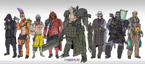Cyber-gang!
