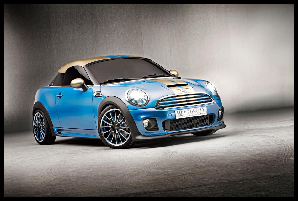 Mini Concept Coupe - Front by blackeagleonline