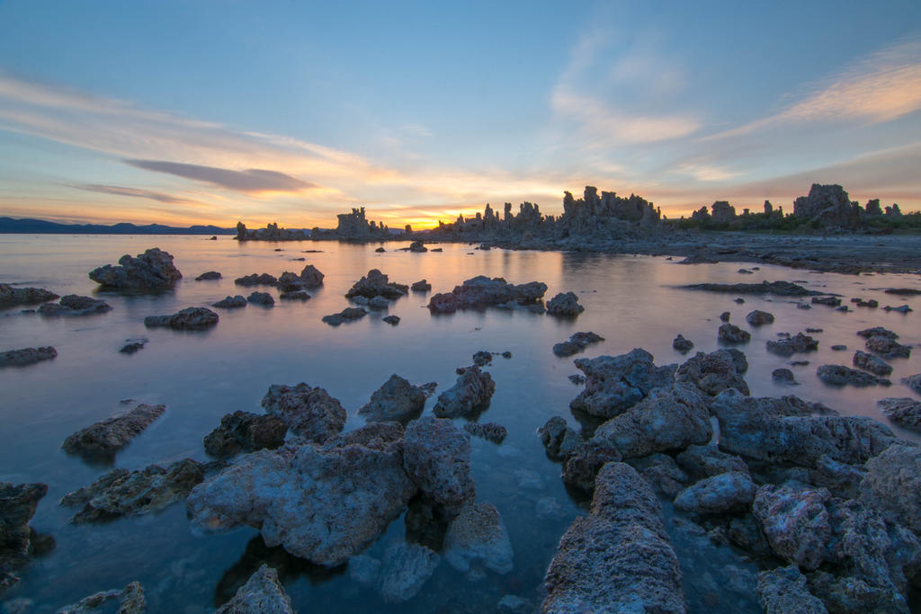 Dawn at Mono Lake by ymmijofmyself