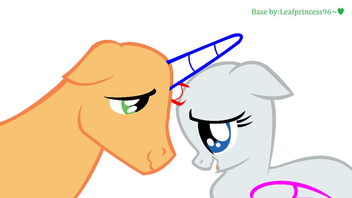 Mlp Stallion Base Mare and Stallion Base by