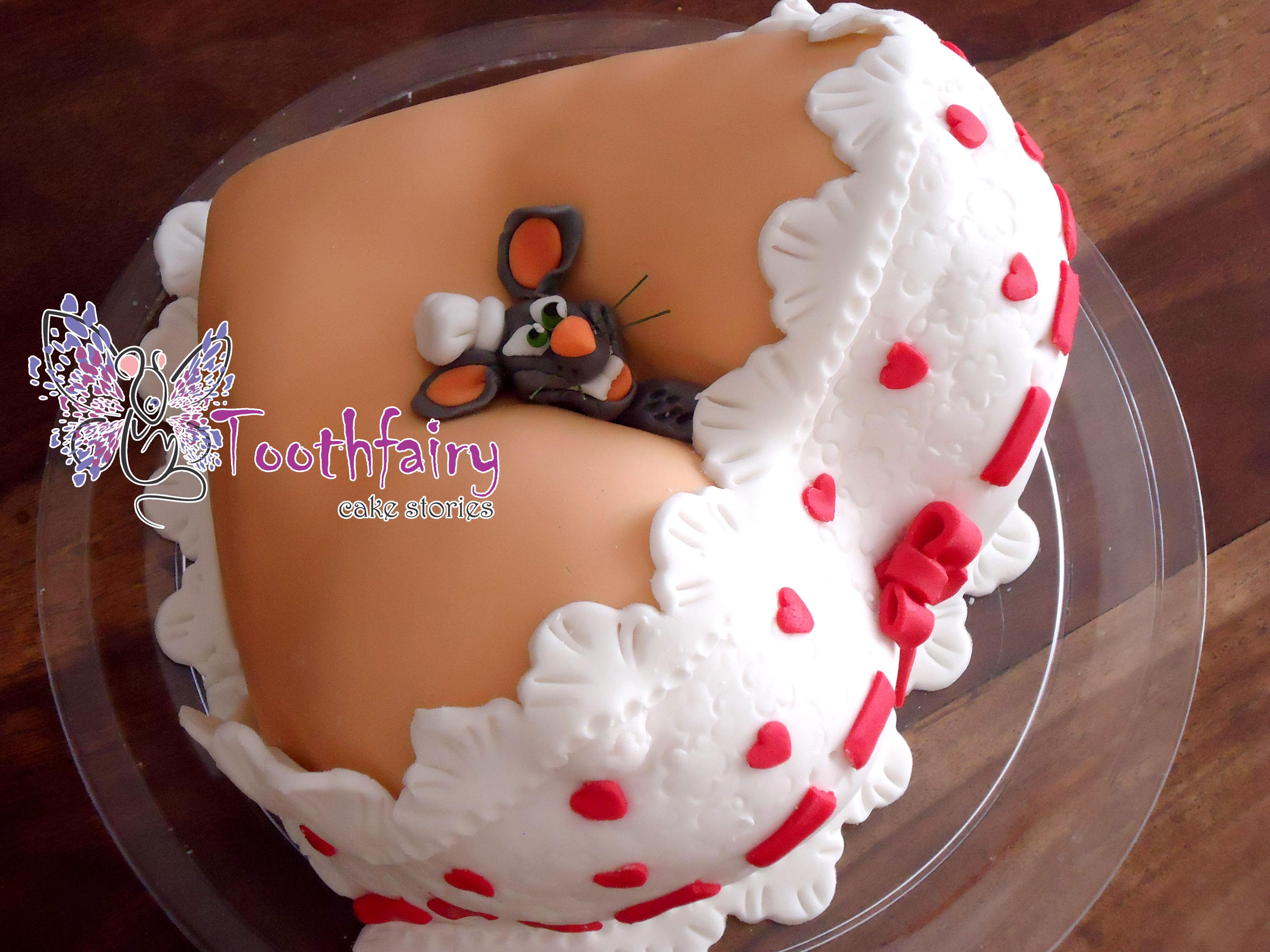 how to make a boob cake