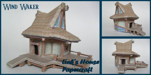 WW Link's House Papercaft by squeezycheesecake
