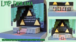 Zelda LttP Diorama Papercraft