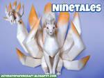 Pokemon Papercraft Ninetales