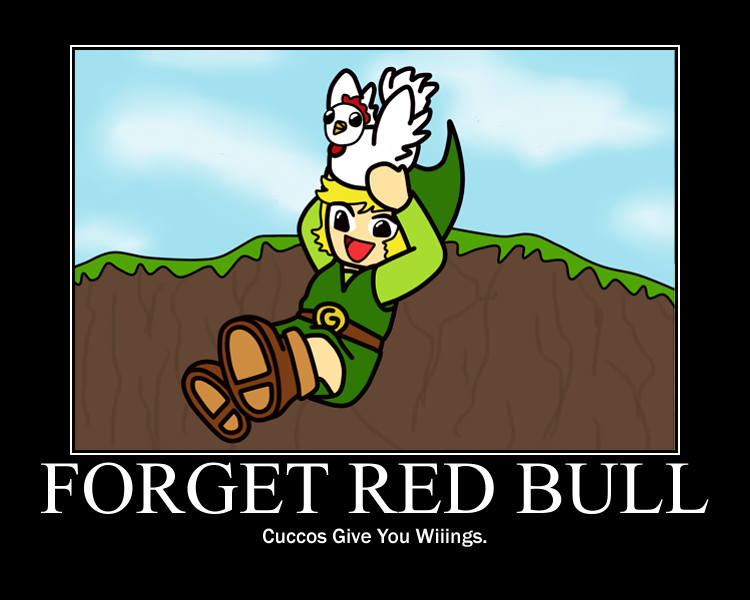Forget Red Bull ZeldaMotivator by squeezycheesecake