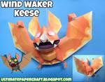 Wind Waker Keese Papercraft