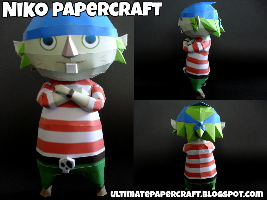 Niko Papercraft by squeezycheesecake