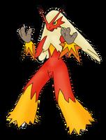 Blaziken, use Blaze...Kick. by squeezycheesecake