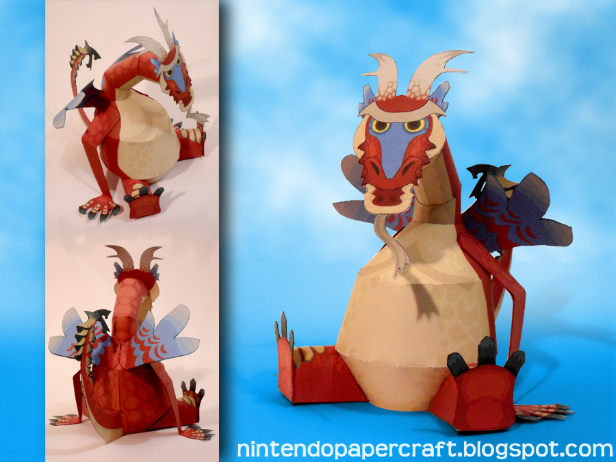 Simple Valoo Papercraft by squeezycheesecake