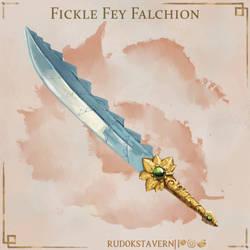 Fickle Fey Falchion
