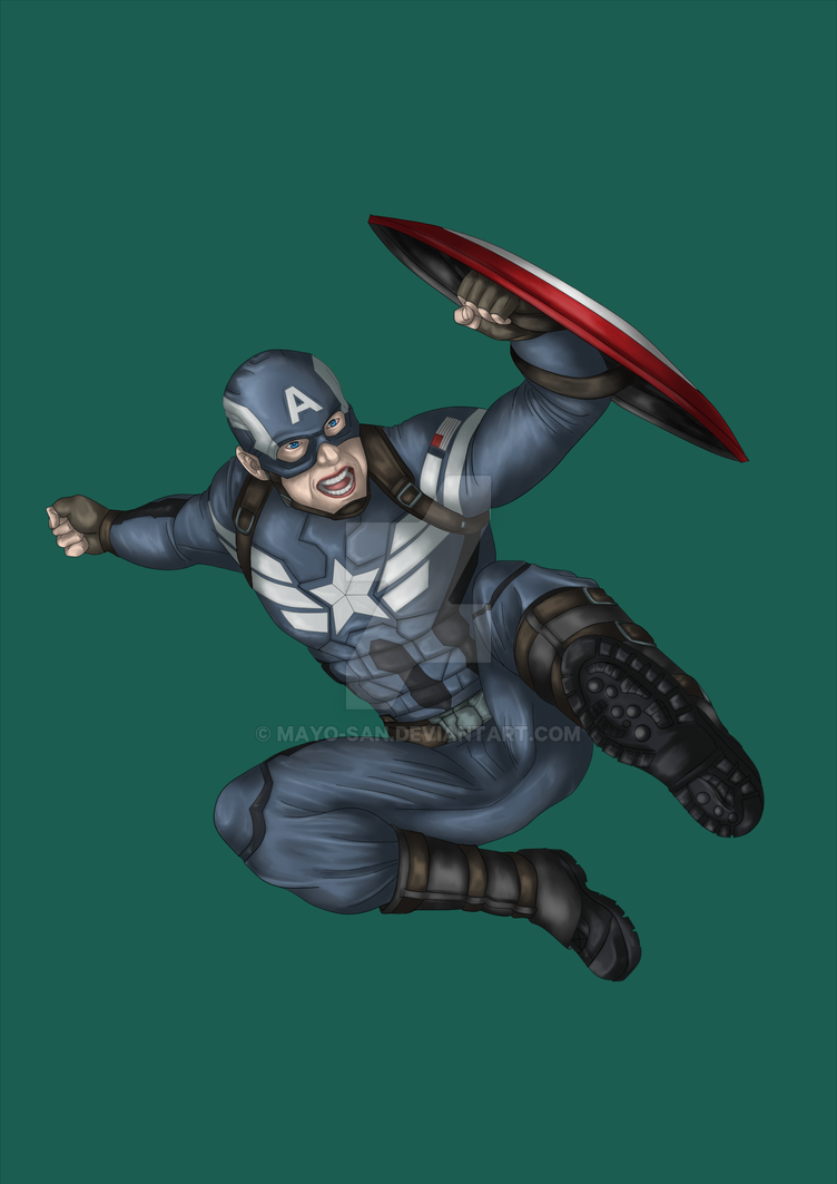 Captain America by Mayo-san
